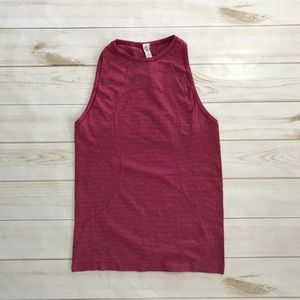 Lululemon Run Swiftly Tech Bumbleberry tank Sz 6